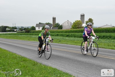 My first Fondo--I'm the one on the right.