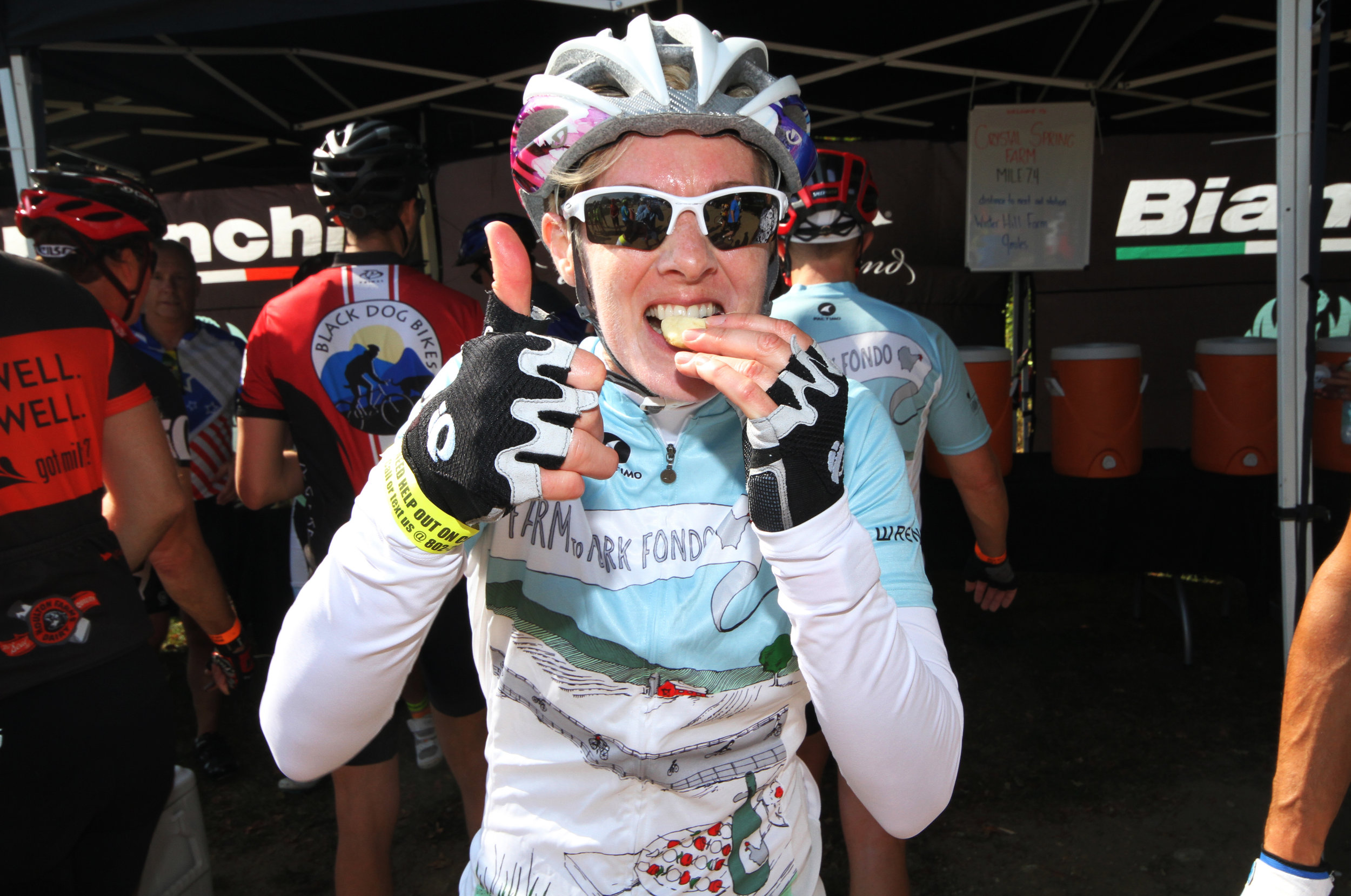 Serendipity Catering chef, 2017 Farm to Fork Fondo - Finger Lakes