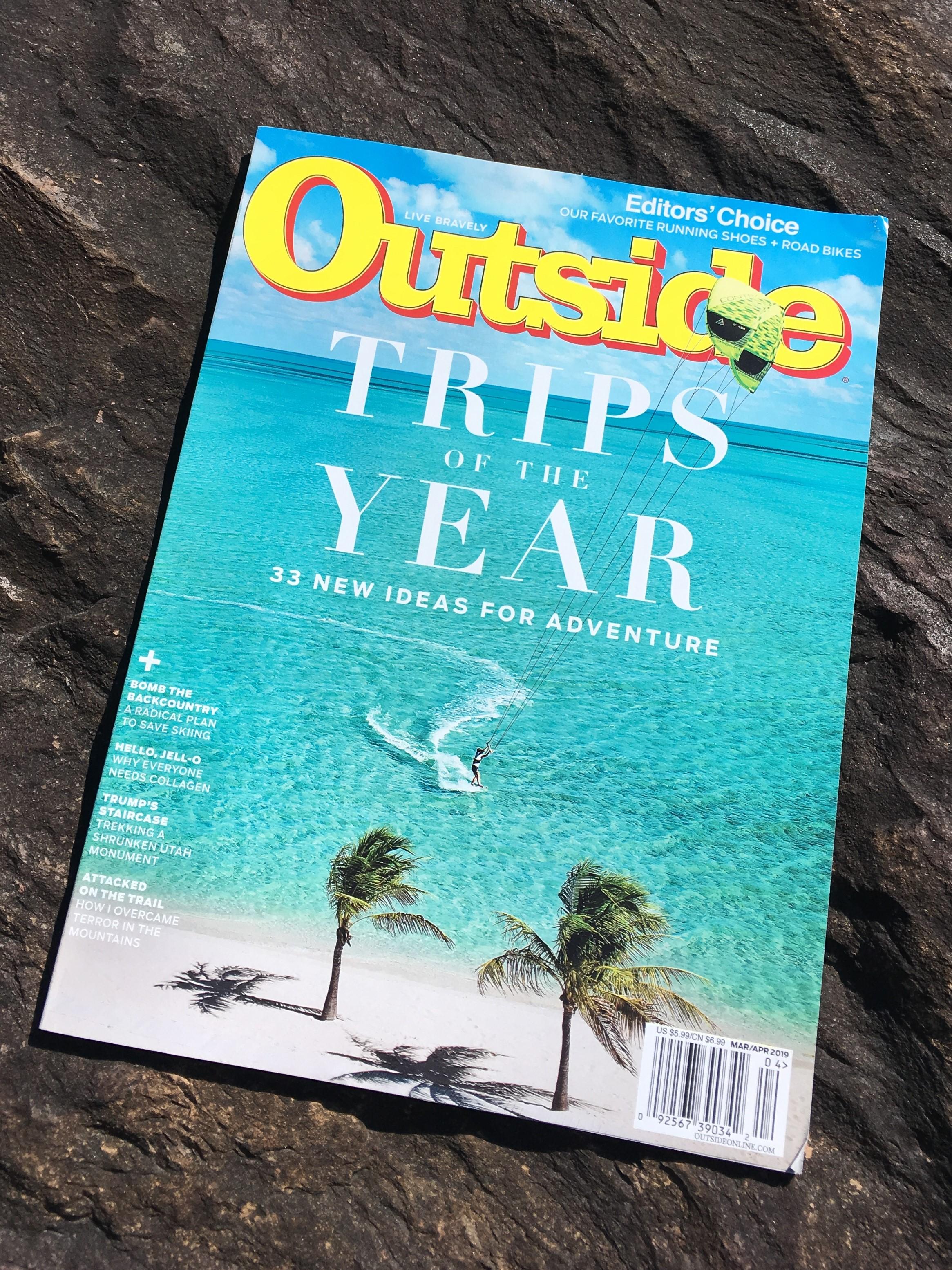 Outside Magazine Features Farm to Fork Fondo