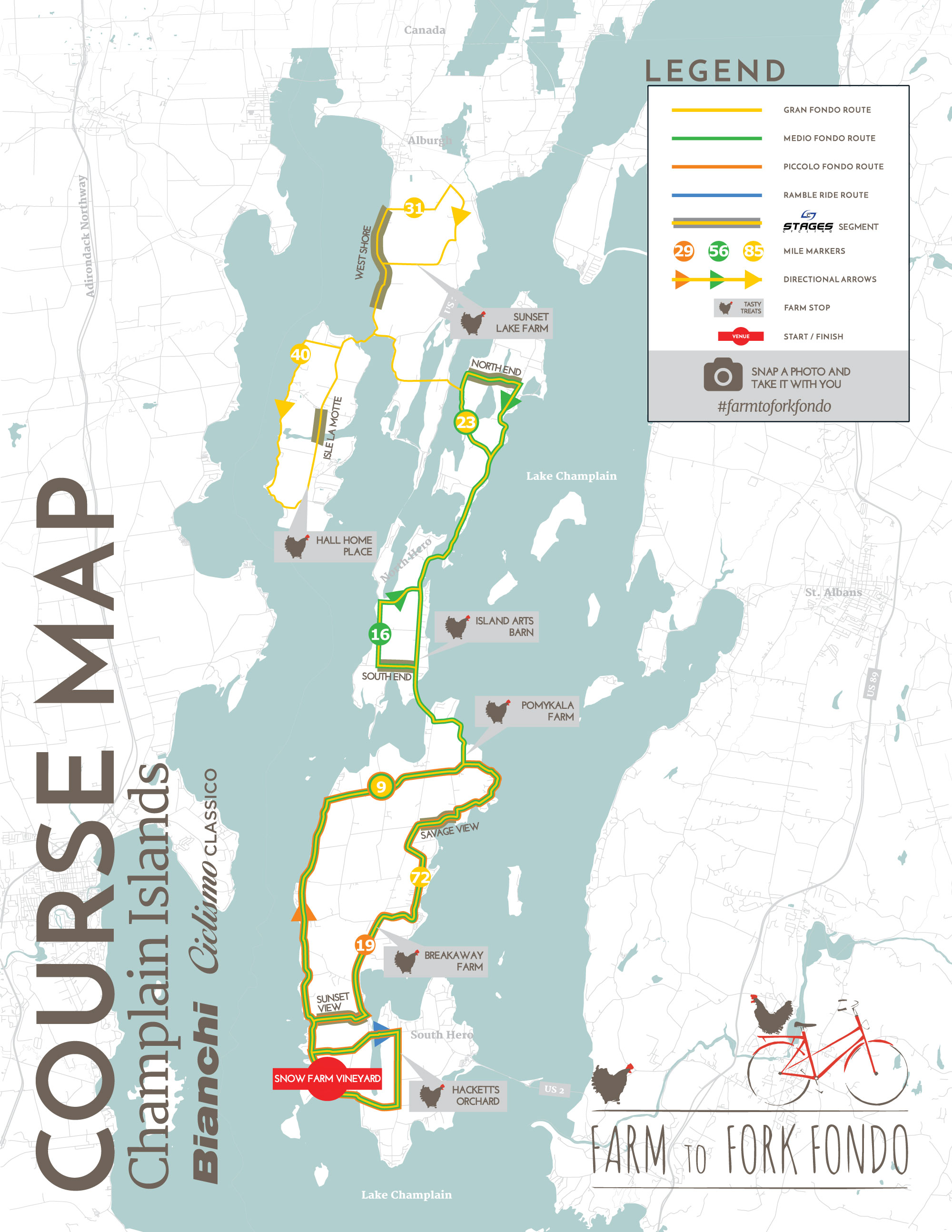 Vermont's Champlain Islands 2019 — Farm to Fork Fondo on topographical map of vermont, tourist map of vermont, geologic map of vermont, political map of vermont,