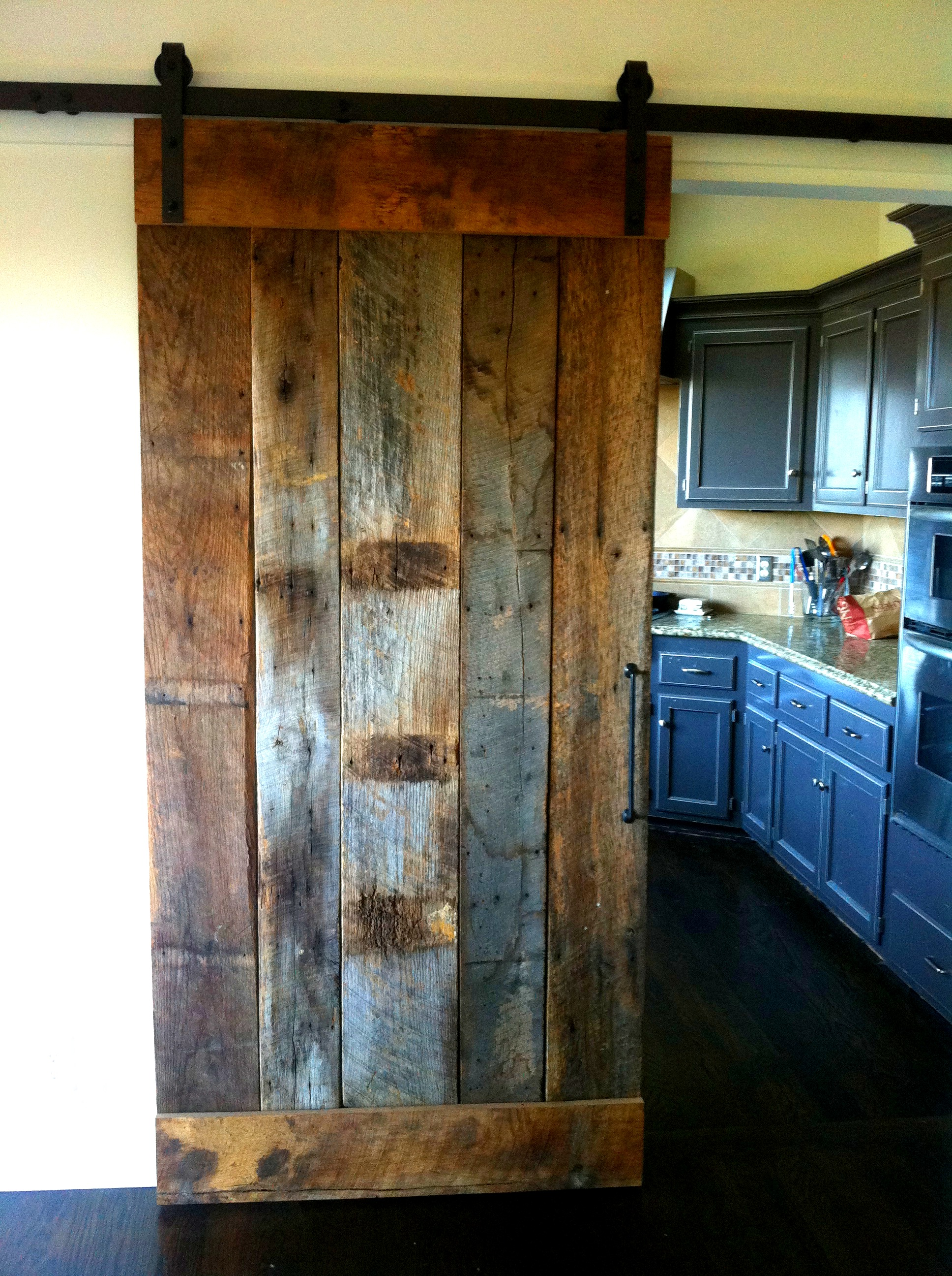 Dang Darling Barn Door - made for a private residence