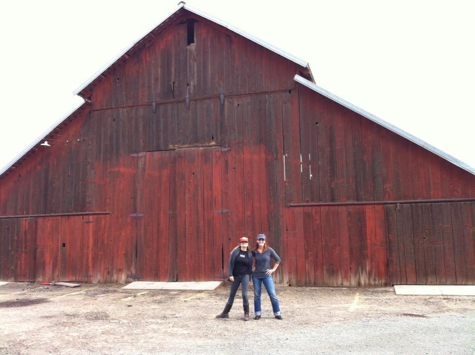 Red Barn in St. Martin, CA