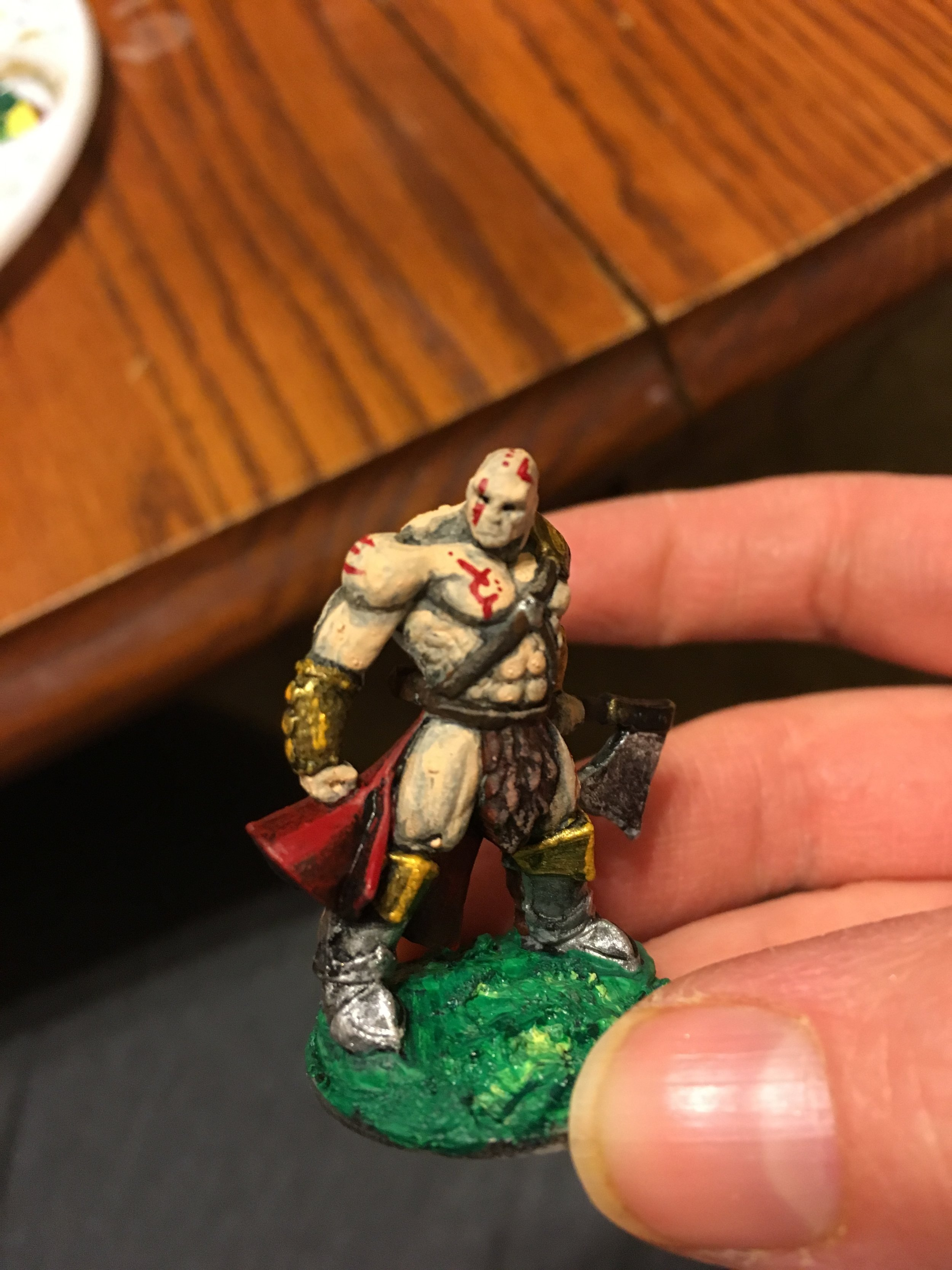 Multiple Player's Barbarian