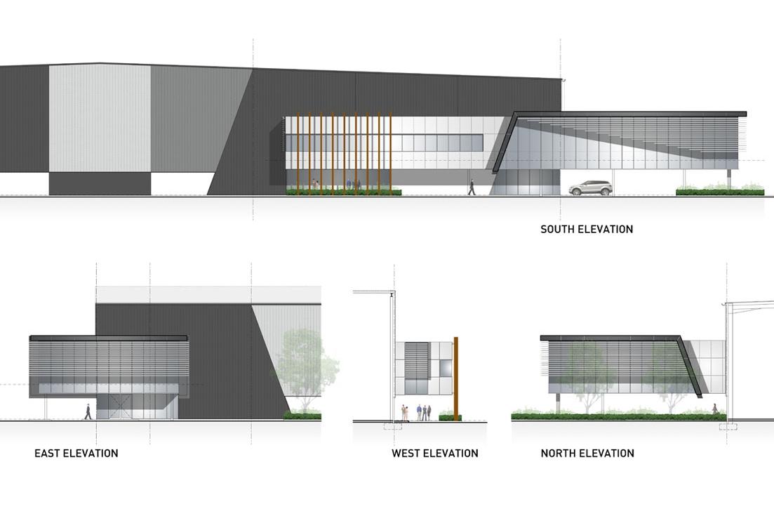 LINFOX + BUILDING 2B, HUNTINGWOOD