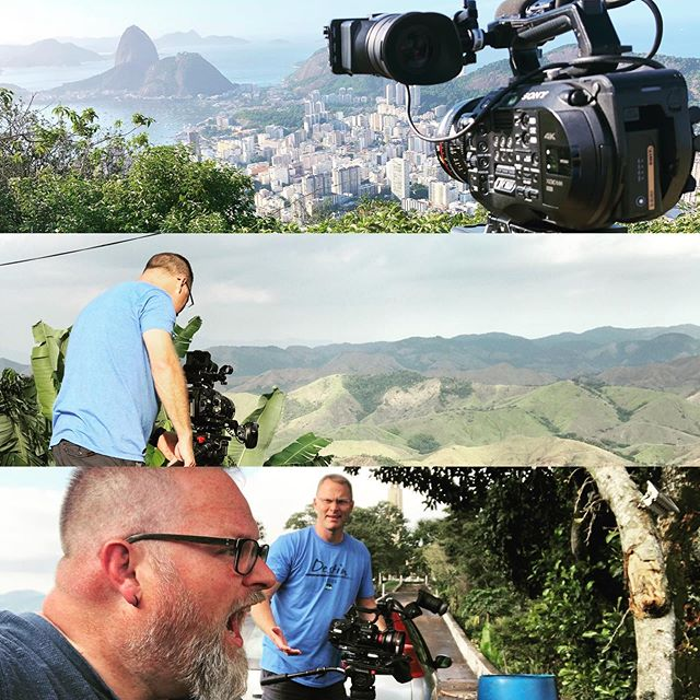 It's so good to be back to Brazil... my people... my land! It's fun to be here for work, just wish I could visit with more friends! #sonyfs7 #canoncne #sachtler #brasil #riodejaneiro
