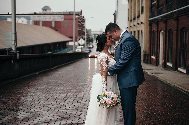 It might have been a little cold and rainy but the amount of love and joy from this sweet couple and their family and friends was enough to warm and brighten the coldest of days. Congratulations Mr. & Mrs. Lane. #jaimiecarlphotography #welcometothefastlane