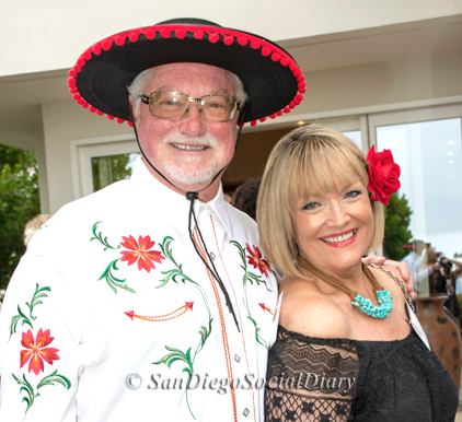 The ever ready to support the arts and animals...the Eddy's!... Chris and Vicky -    View the gallery