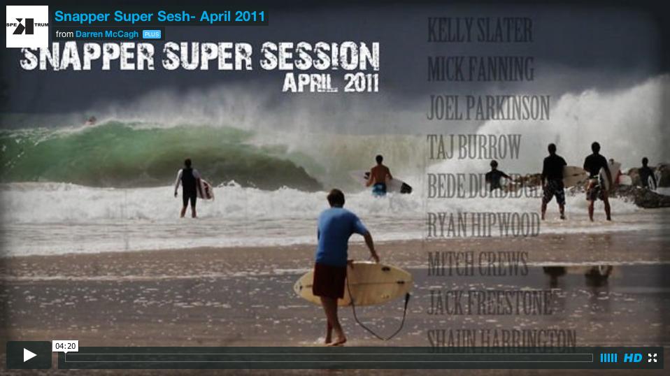 Snapper Super Session