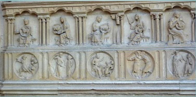 12 Bas-Reliefs