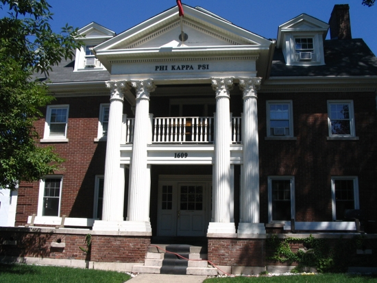 Our chapter house located on 1609 University Ave SE, Minneapolis, MN
