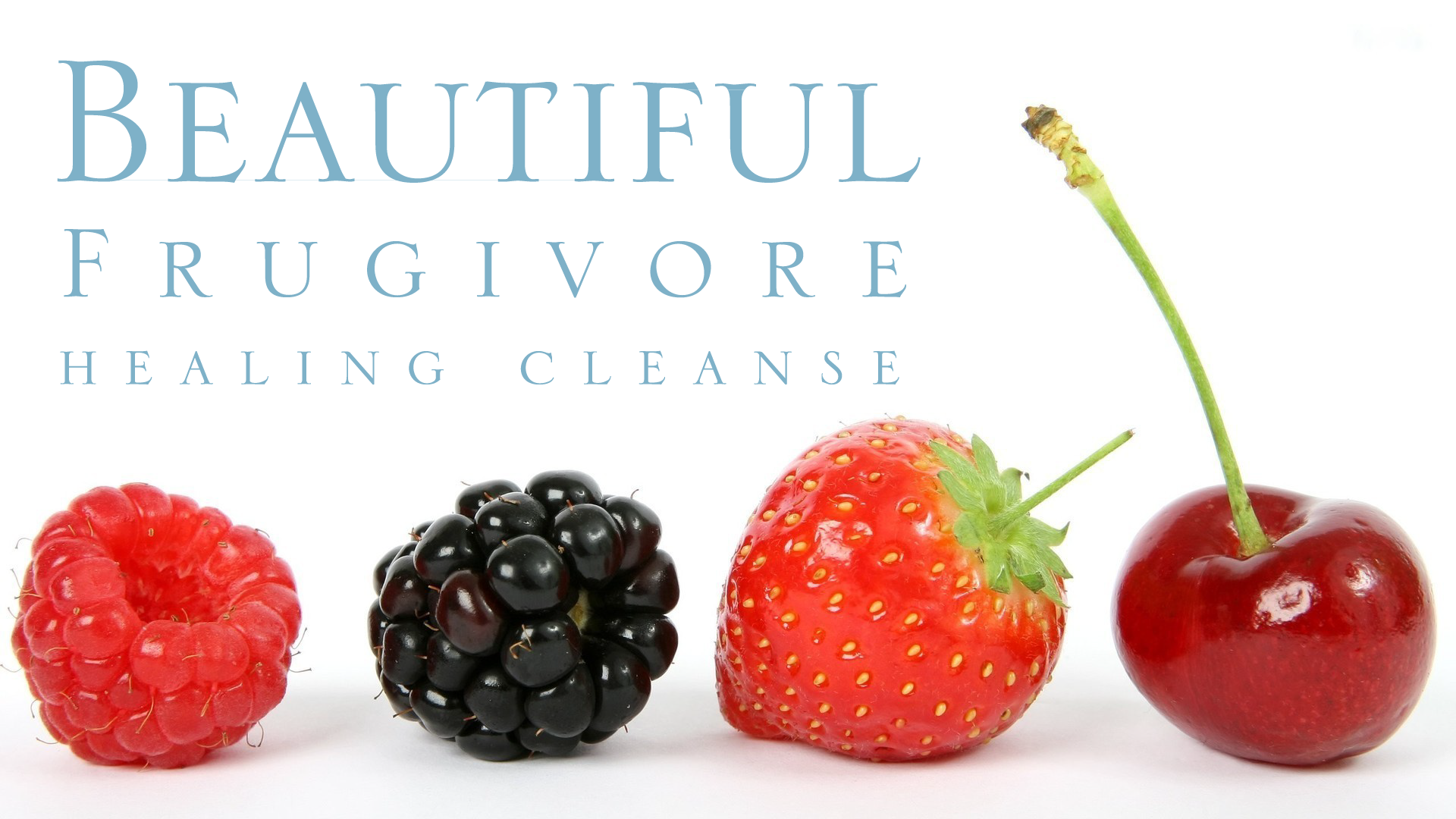Steven Budden Beautiful Frugivore Healing Cleanse