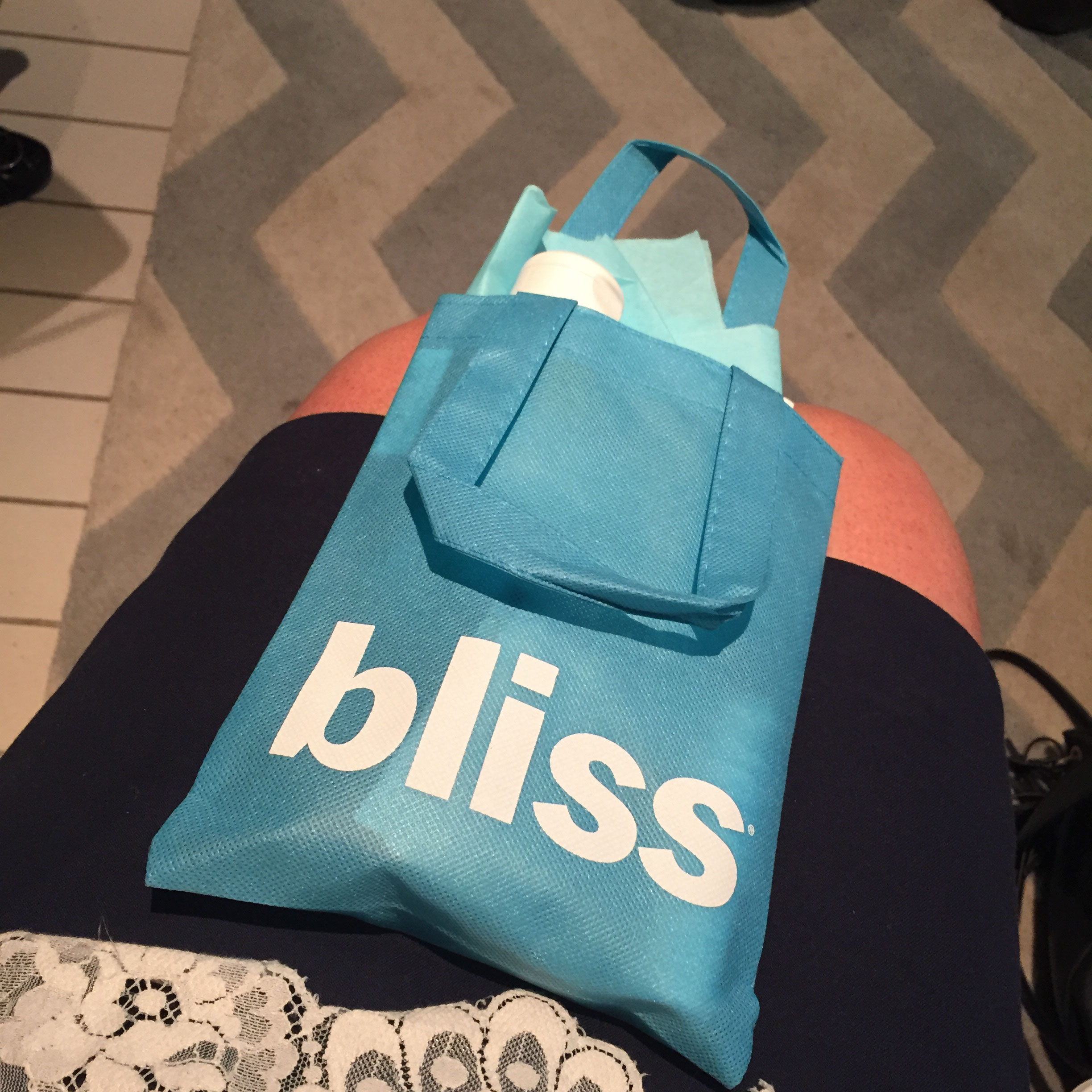 Our first day ended with a tour of Bliss Spa in the W Hotel.