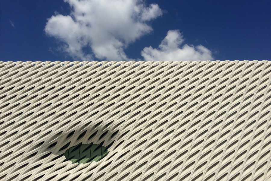 Haven't been inside The Broad yet.