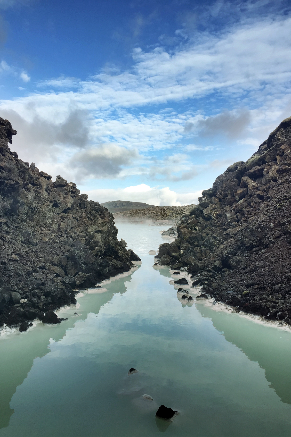 Our fifth and final soak was the famous Blue Lagoon.