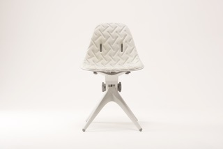 Pentatonic AirTool Chair, rPET fabric seat, front view.jpeg