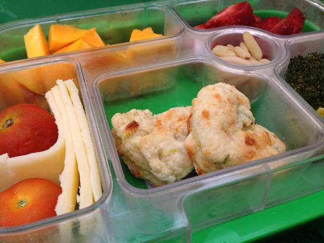 Hungry Little Veggie Recipe in the Yumbox Lunchbox