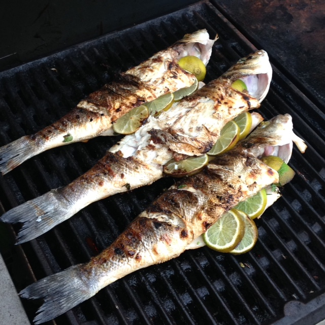 BBQ Fish with Lime