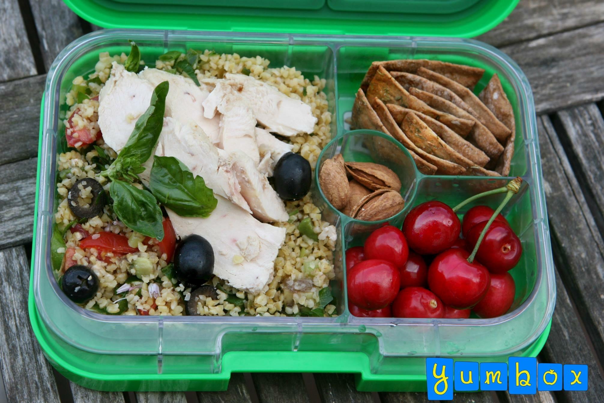 The Yumbox Panino Chicken Salad