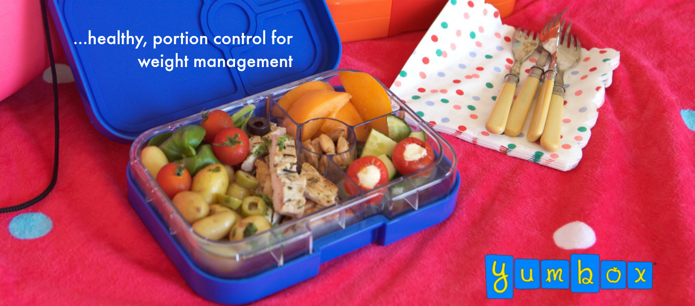 Yumbox Lunchbox for weight management