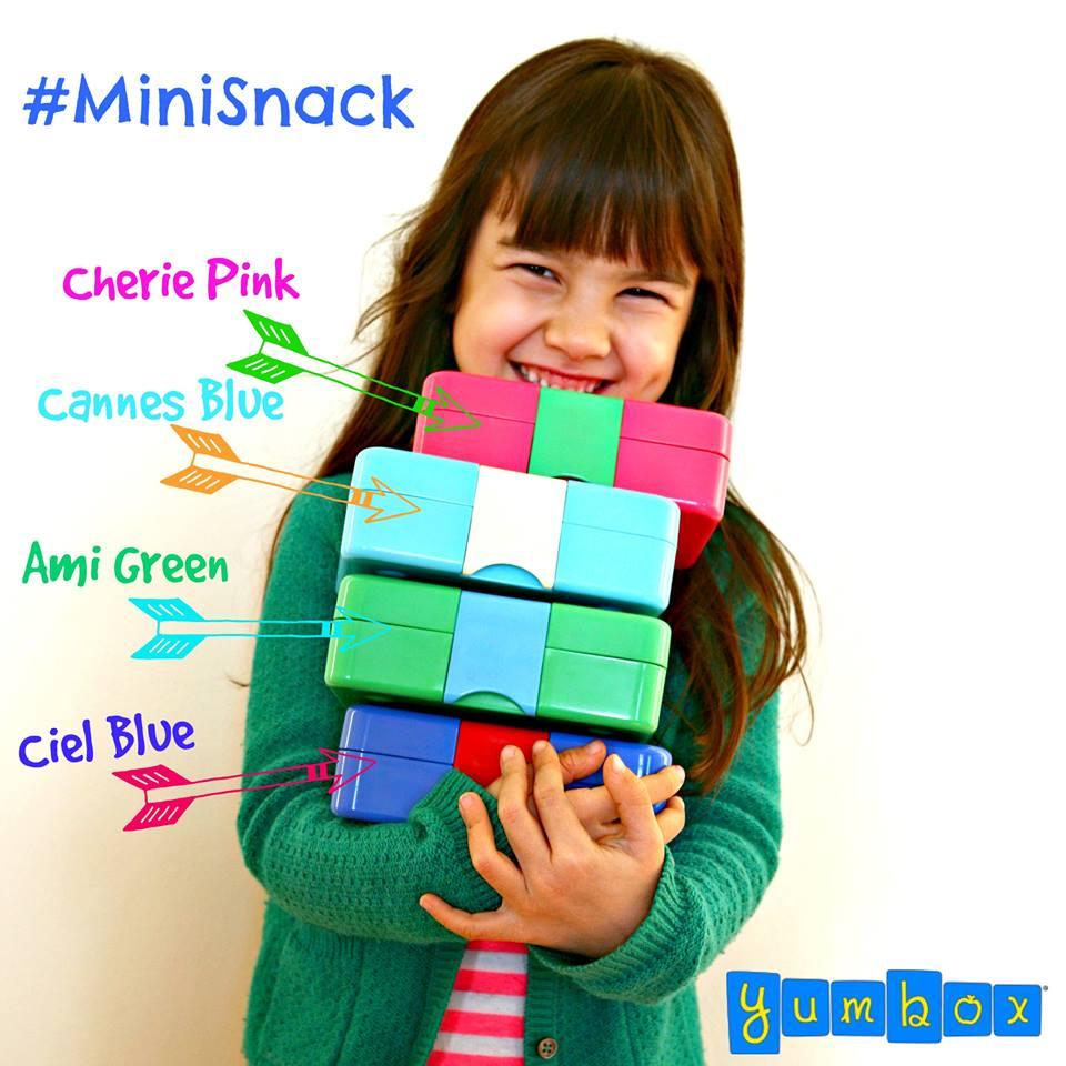 Yumbox Mini Snack Colours 2016
