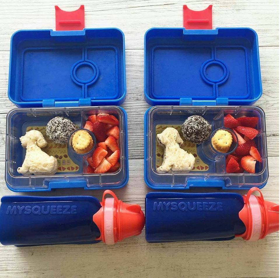 Yumbox Mini Snack with My Squeeze Pouches