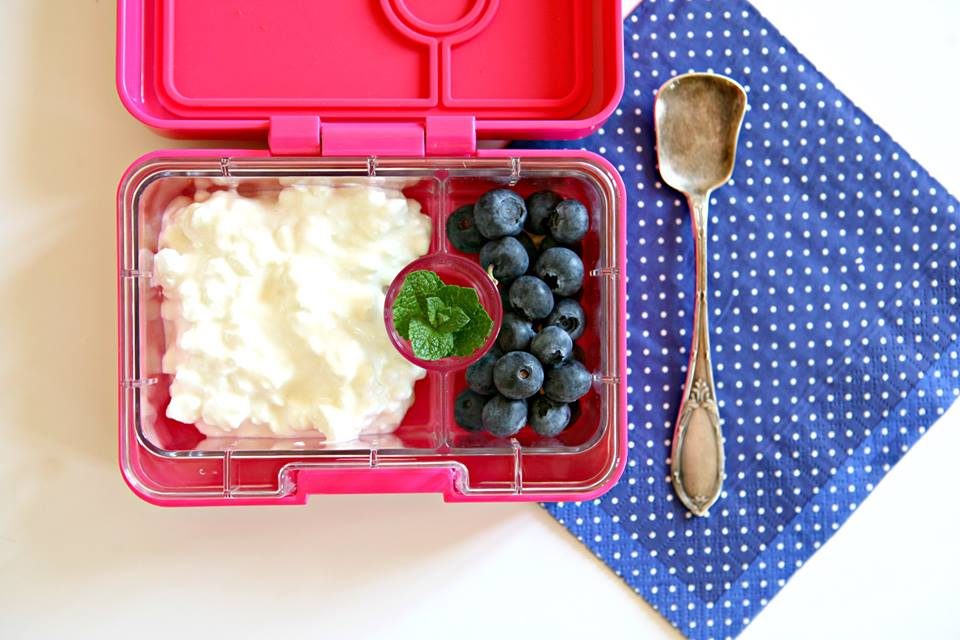 Yumbox Mini Snack with Cottage Cheese