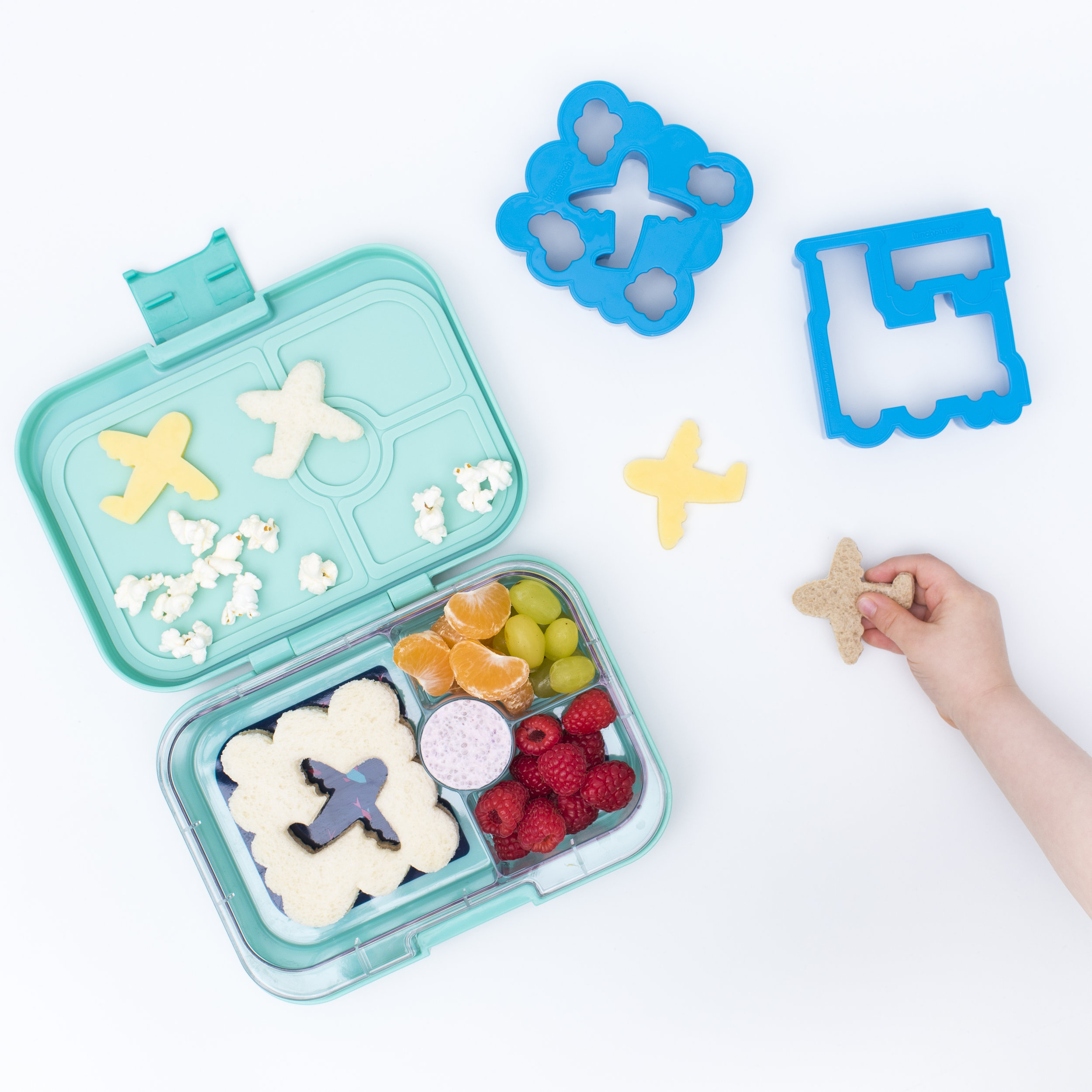 Yumbox with Transit Lunch Punch Sandwich Cutters