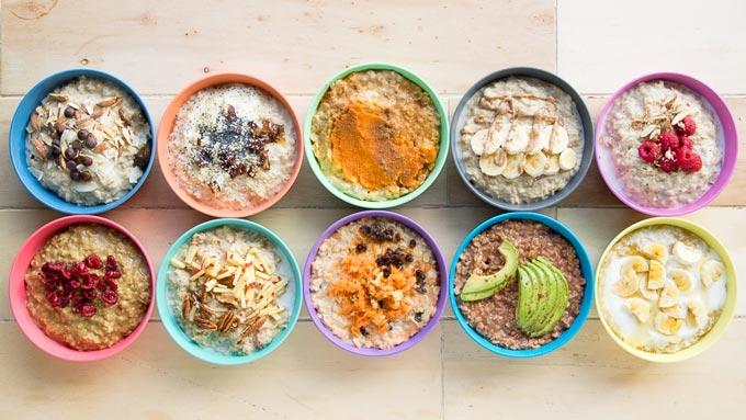 The Worktop Healthy Porridge