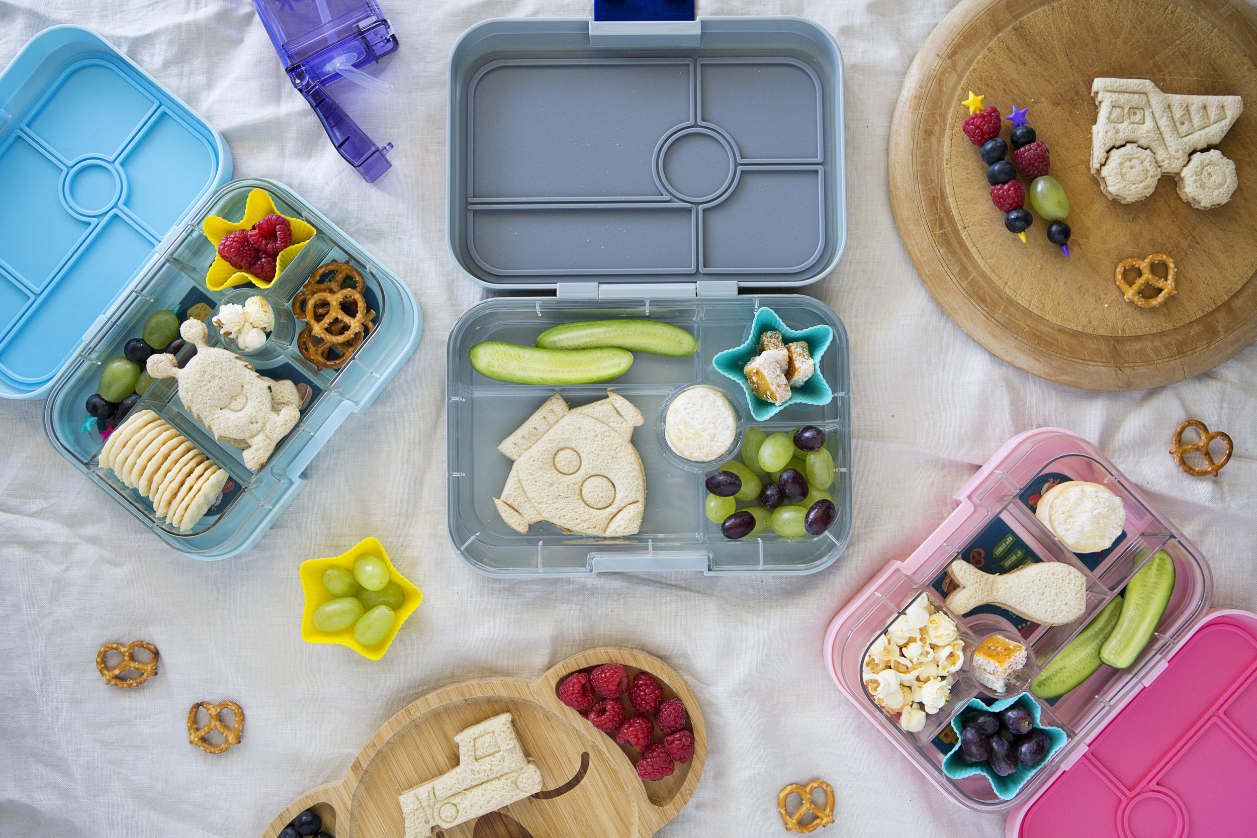 Lunch Punch Sandwich Cutters and Yumbox Lunchbox