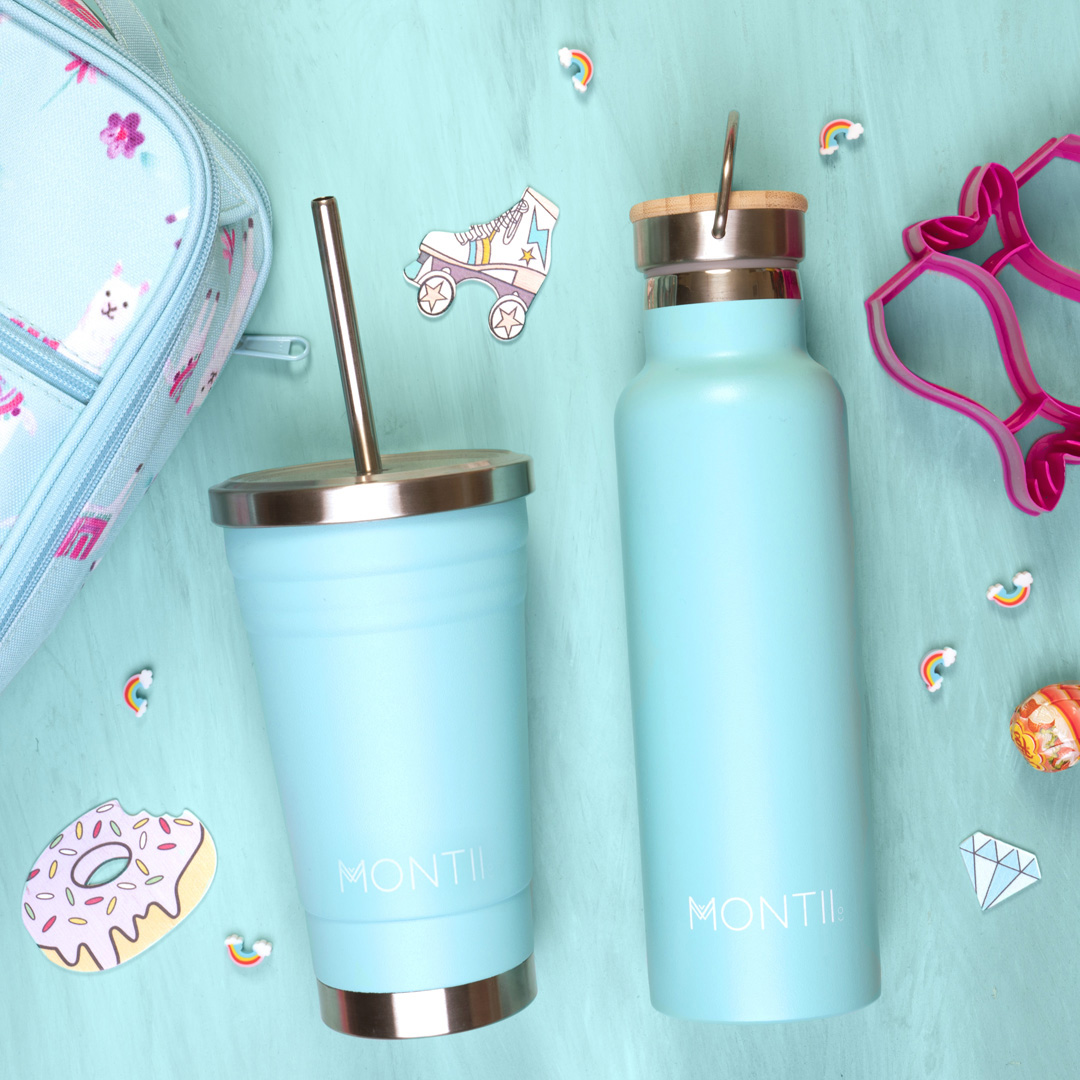 Montii Smoothie Cups and Water Bottles