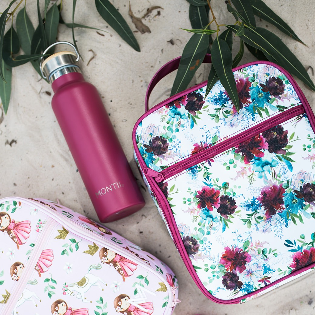 Montii Insulated Lunchbag - Floral