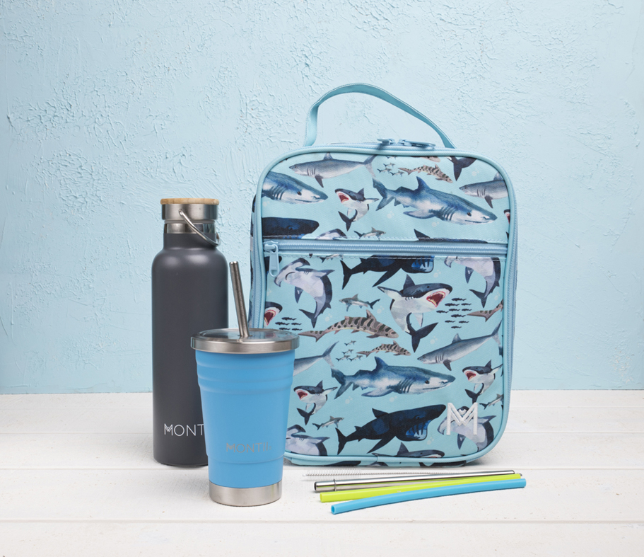 Montii Insulated Lunchbag - Shark