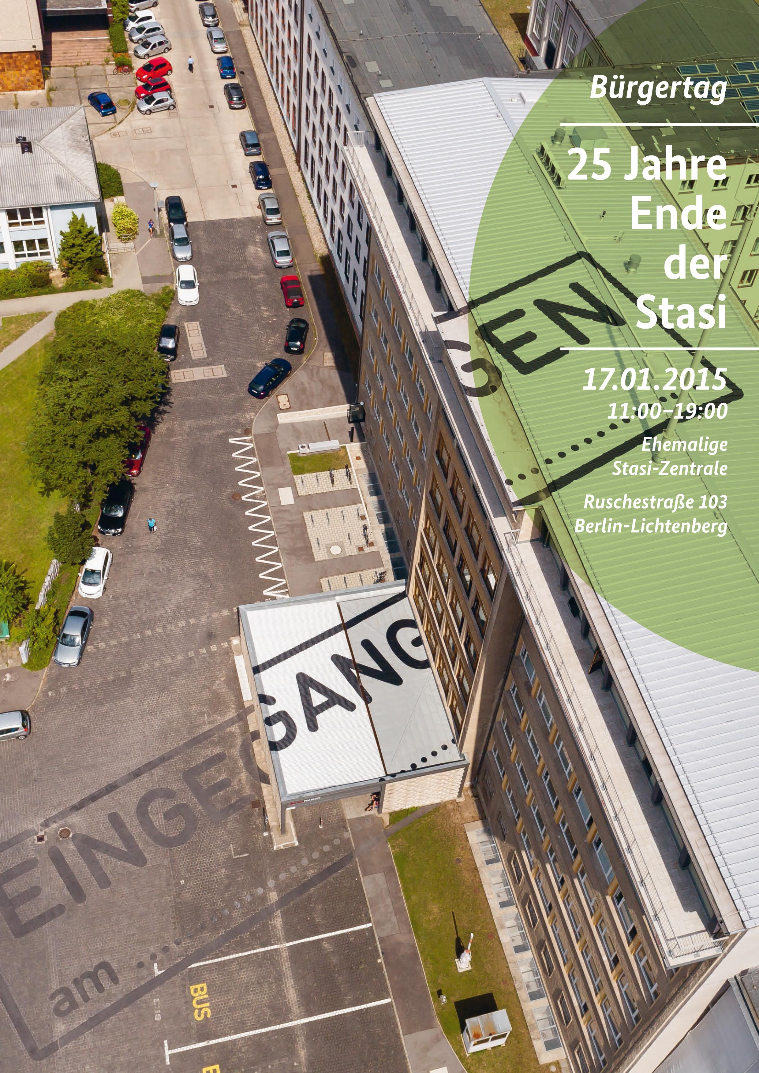 Ausstellungstexte Stasimuseum