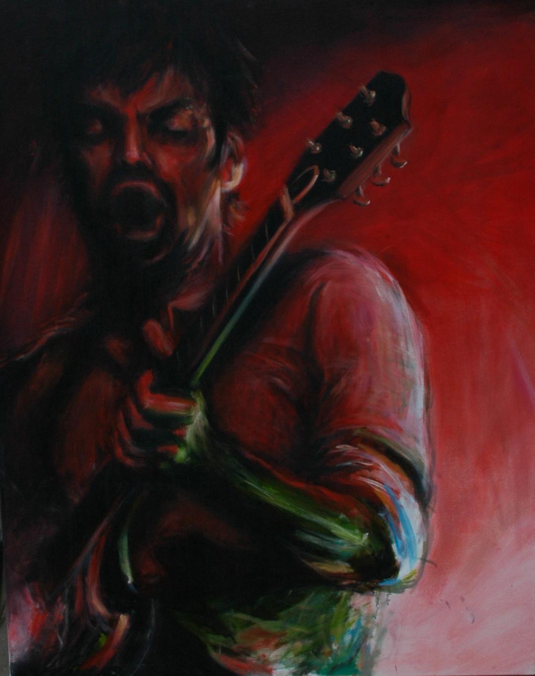 'The Flan' Oil on Canvas (125 X 100cm)