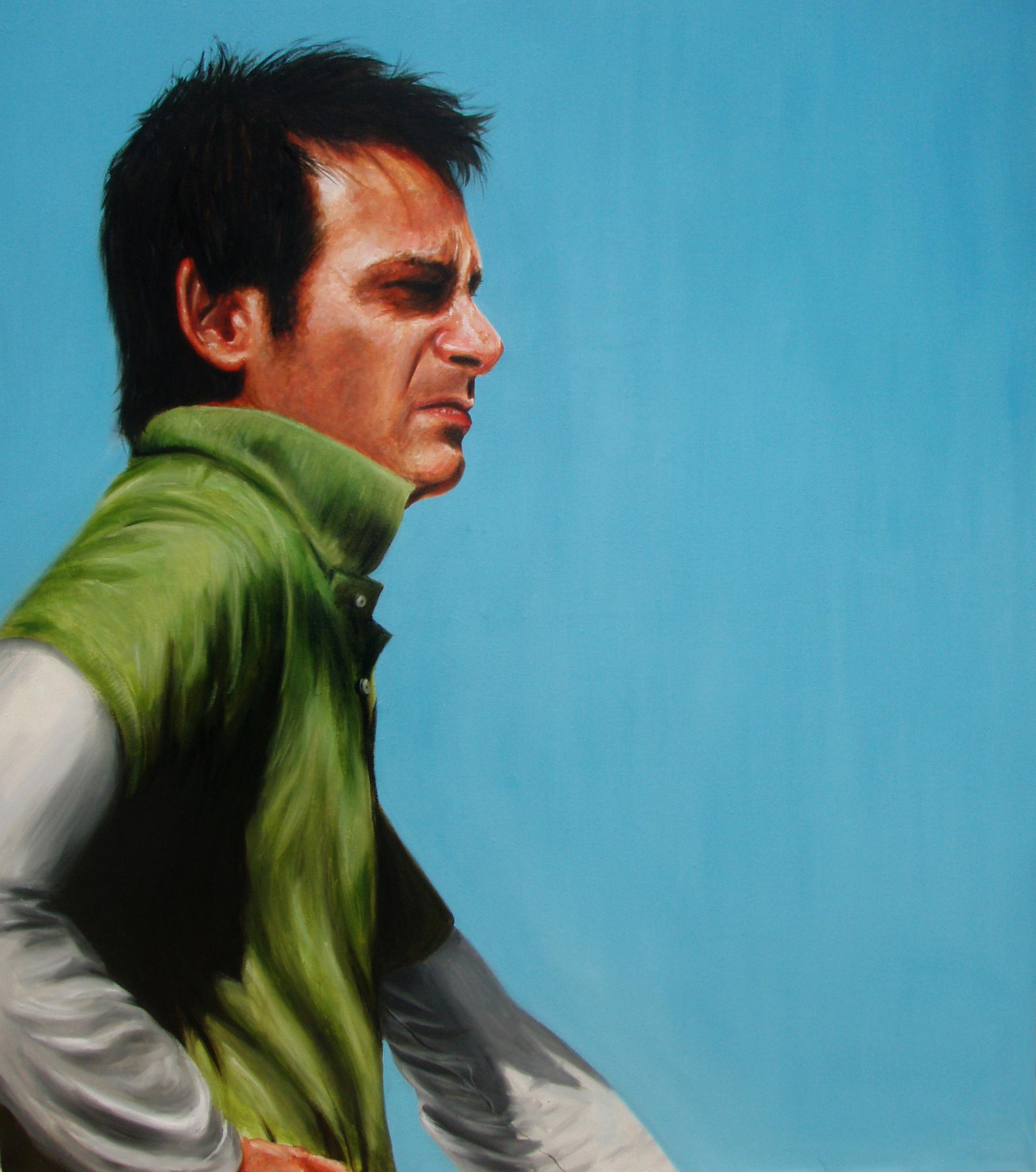'Michael Reimers' Oil on Canvas (130 x 130cm)