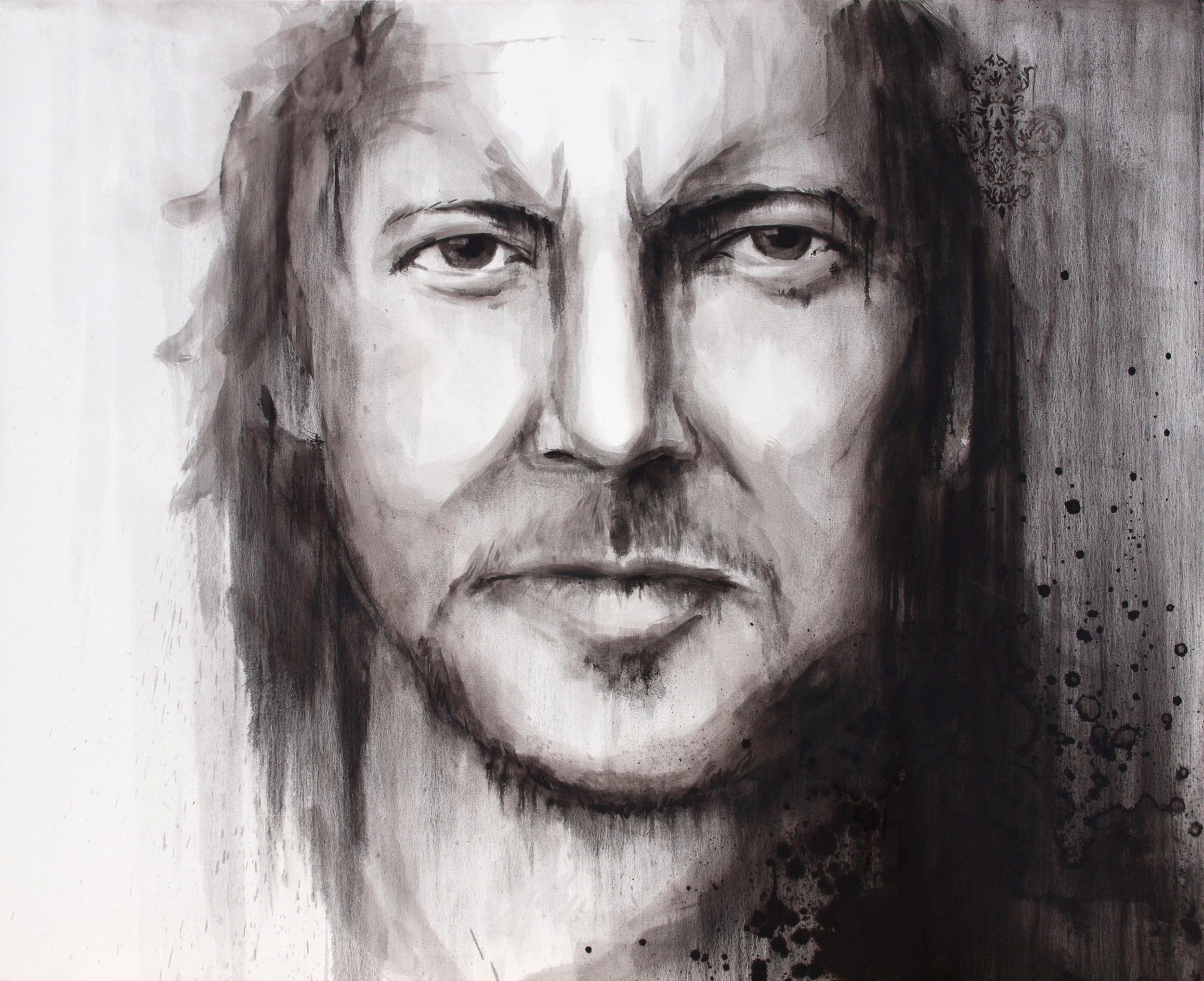 'Eddie' Oil on canvas (140x170cm)