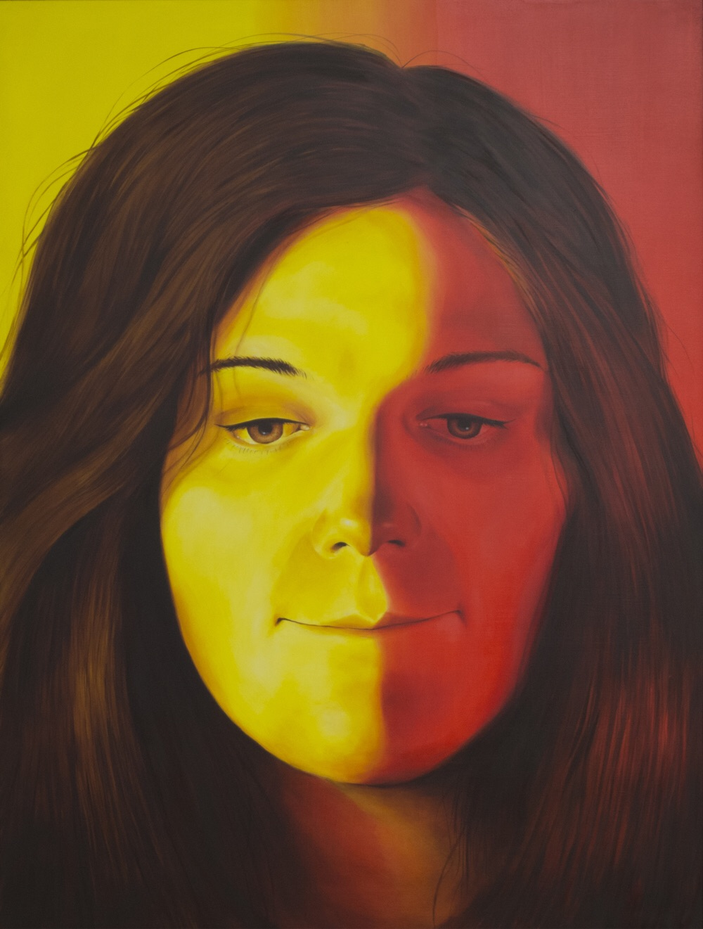 'Sophie' Oil on Board (120 x 90cm) Framed