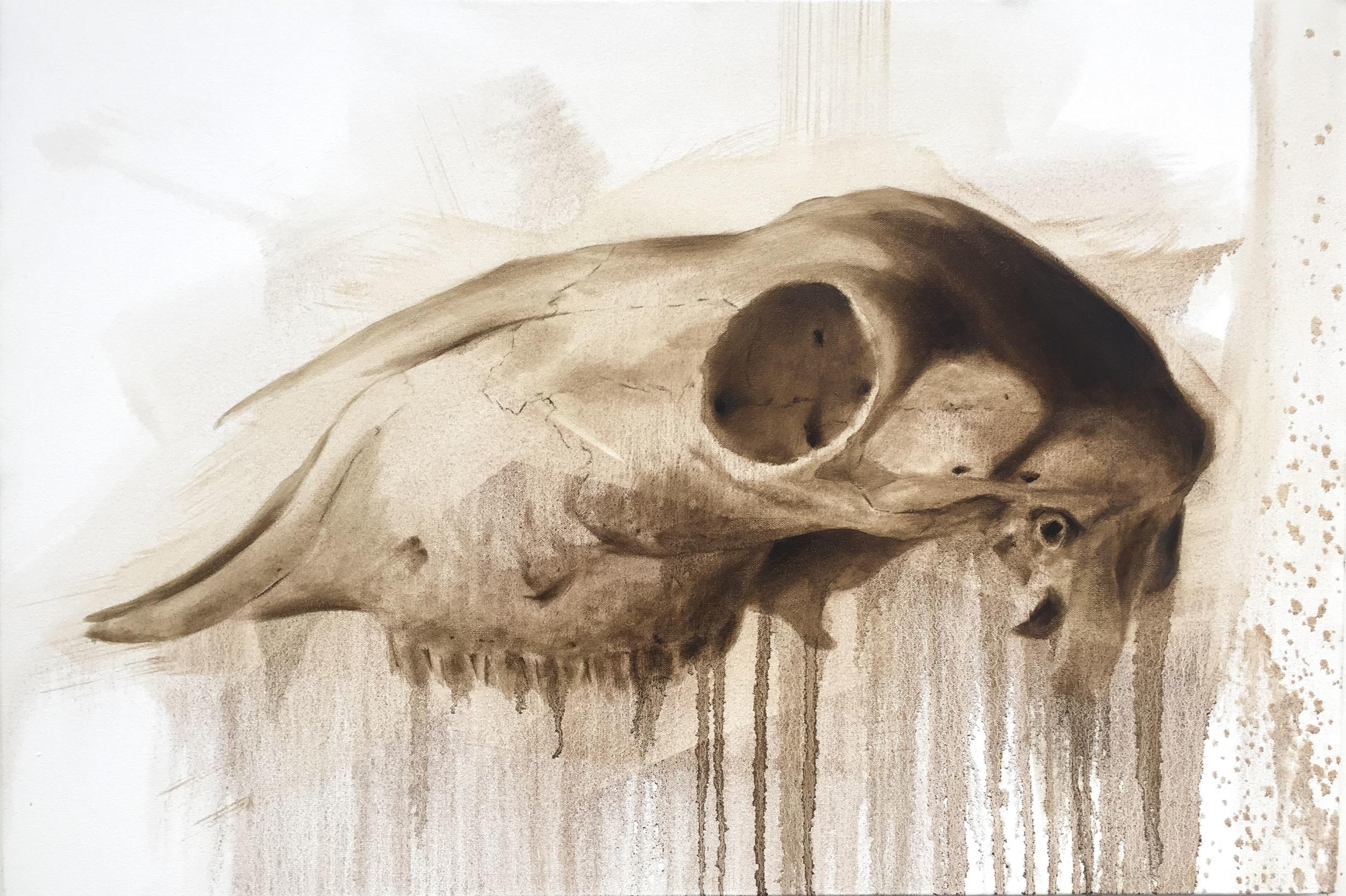 Oil on Canvas (56x76cm)