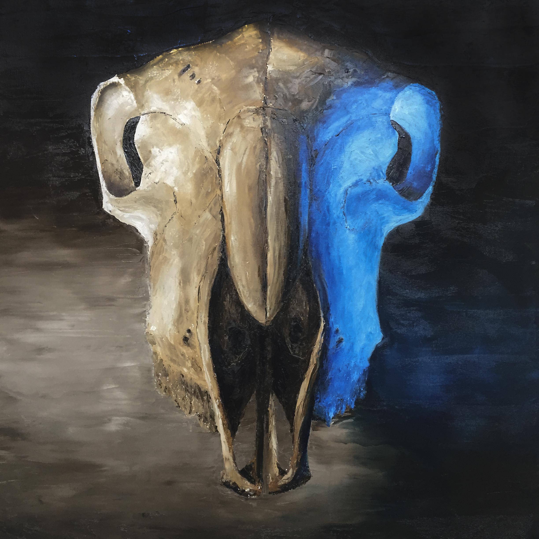 Oil on Canvas (100x100cm)