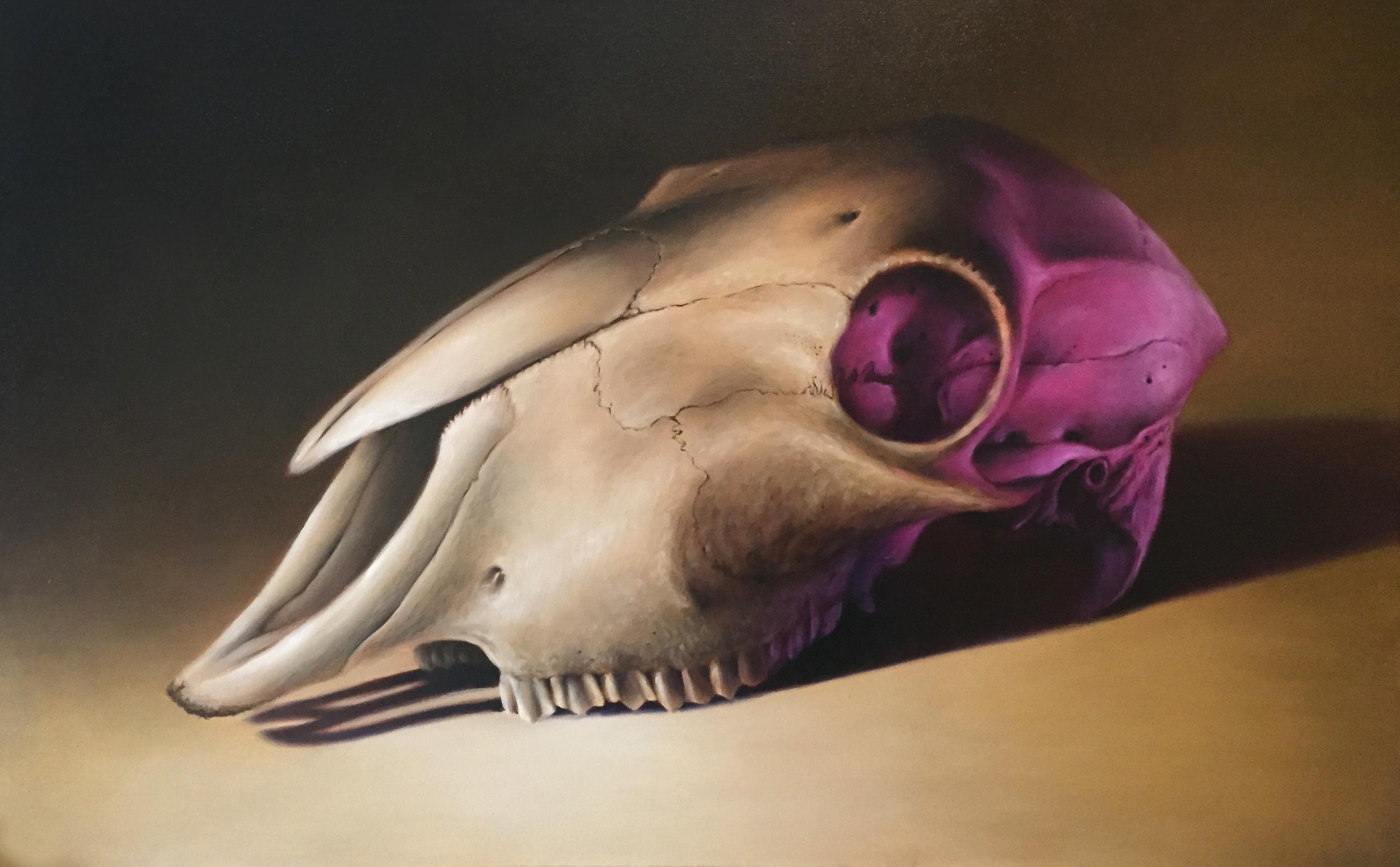 Oil on Canvas (120x60cm)