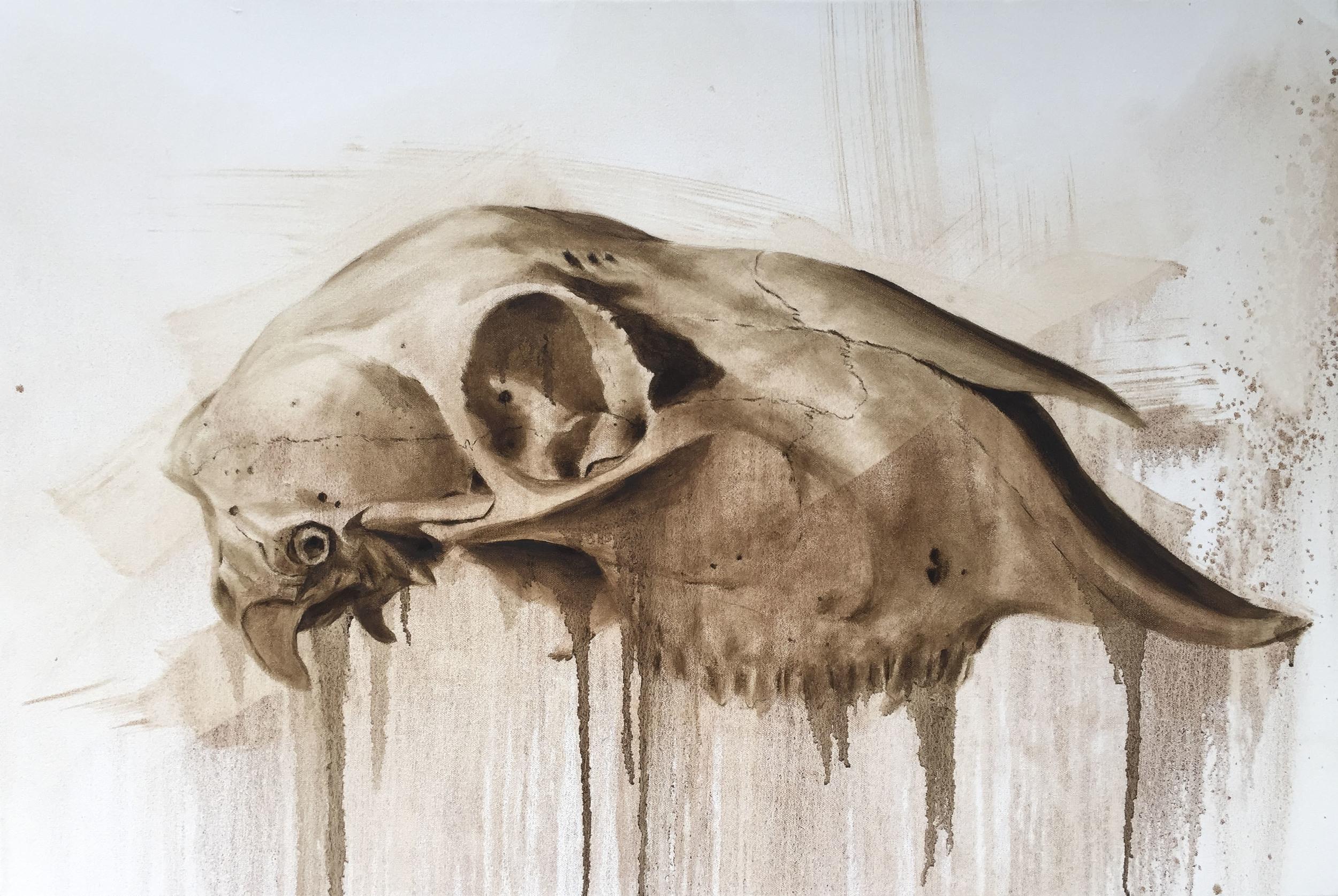 Oil on Canvas (57x77cm) Framed