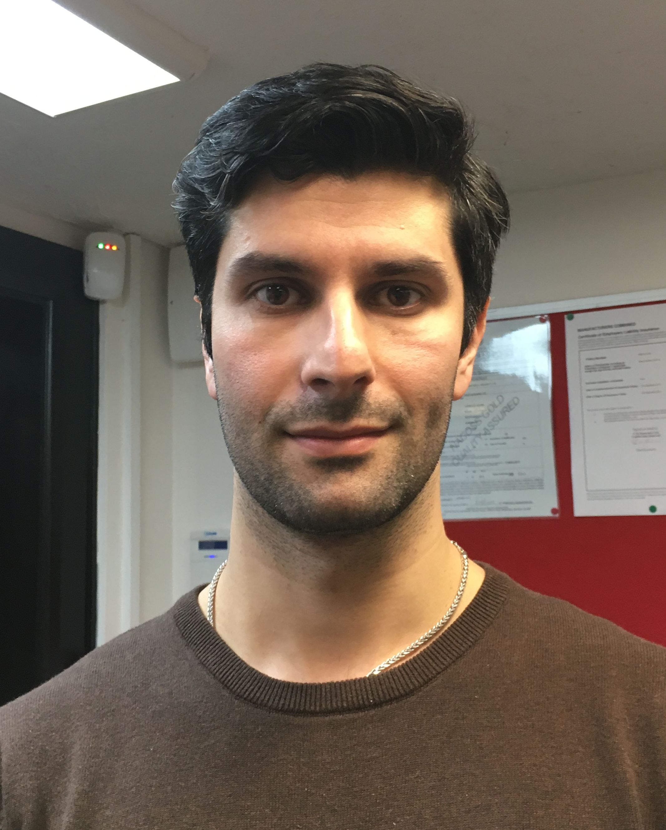 Our engineer, Dr Mehdi Hendijanizadeh - Research Fellow in Electromechanical Engineer within Engineering and the Environment at the University of Southampton