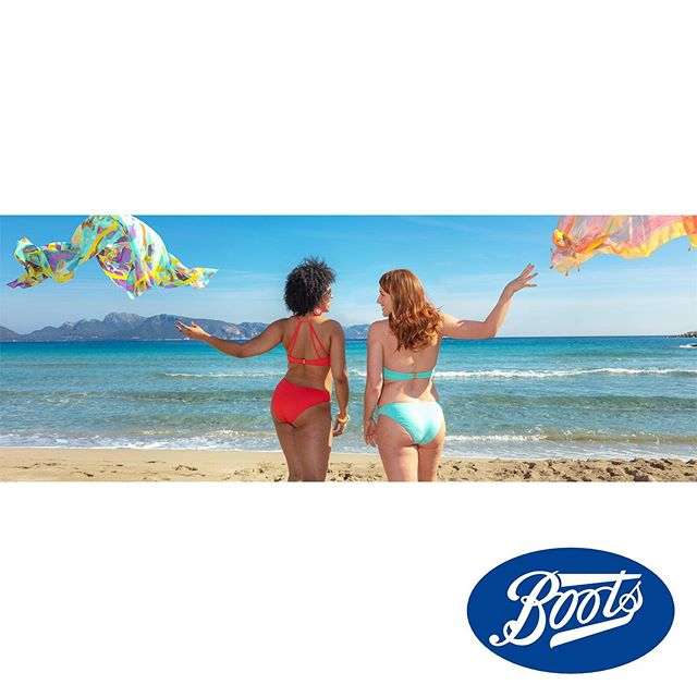 Boots UK launch their body positive, 'Lets Feel Good About Summer' campaign.  Photography: @karlgrant @studiomallorca Assistant: @gonzalohc Hair: @stangefrank Make-up : @mmmakeupartist Manucurist: Thuy Hong Heise @demasantanyi Models: @moniqueeloise_ @kellyclarepics  Production: @xamenabibiloni @palma_pictures . . . #mallorcaphotographer #advertisingphotography #realbeauty #bodypositive #summercampaign