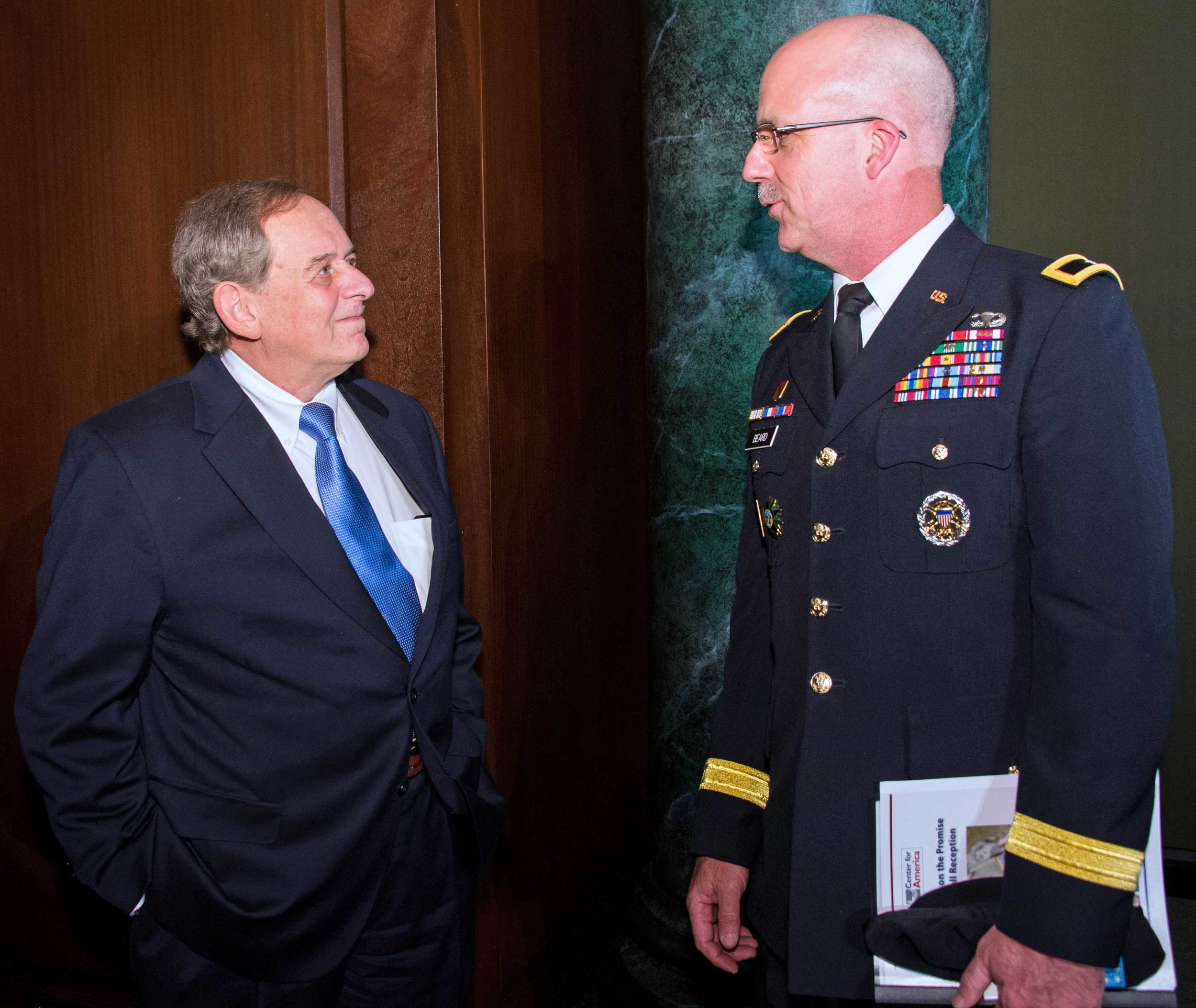 Steve Nowlan, Center for America and Brigadier General Kenneth Beard, North Carolina National Guard
