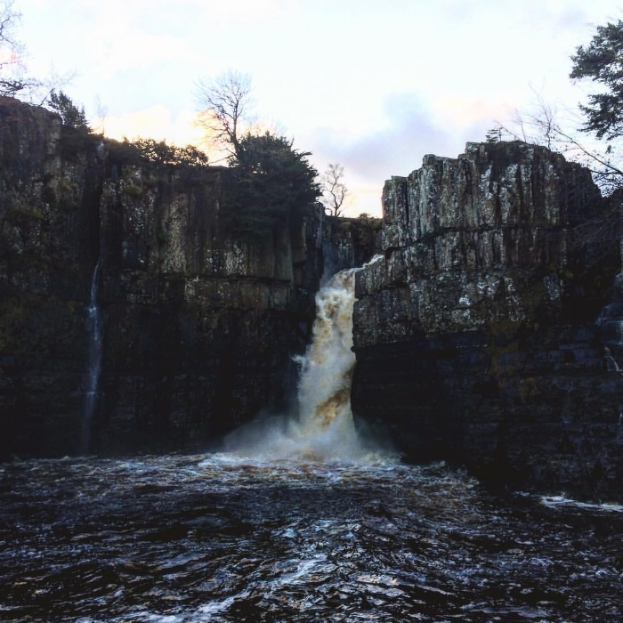 New Years Day walks at High Force Waterfalls... Such a perfect way to start the year and I even met an owl along the way ♡