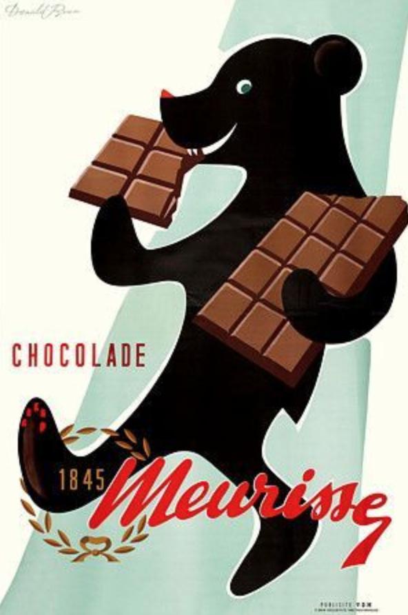 The begnning of Chocolatier Meurisse