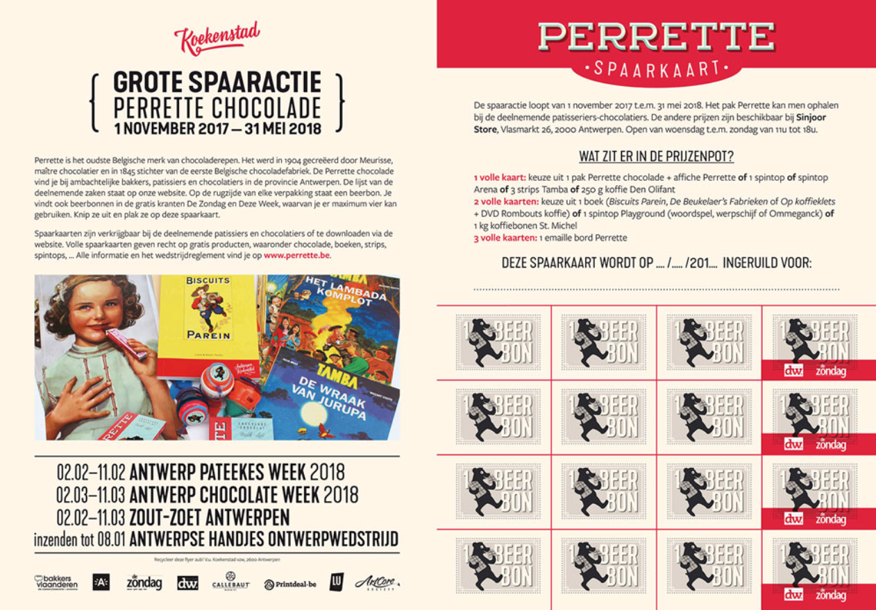 Perette returns to the market in 2017! The old recipe but with ecologically degradable packaging.