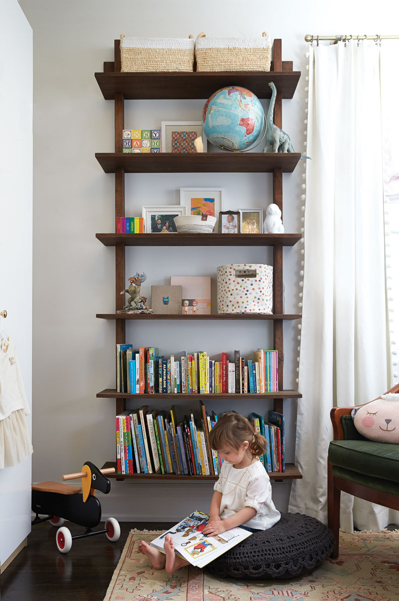 Functional toddler bedroom