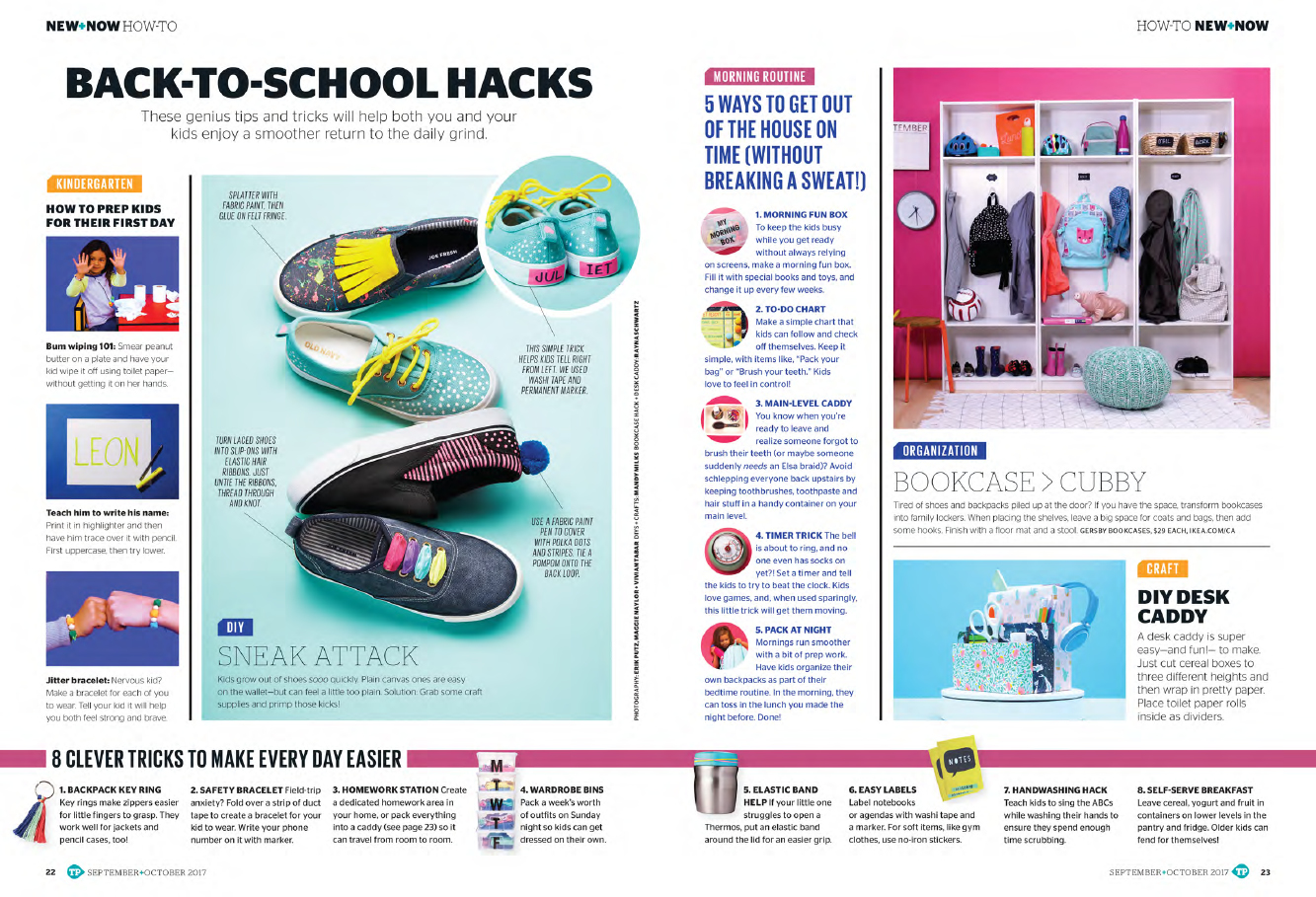Back-to-school hacks