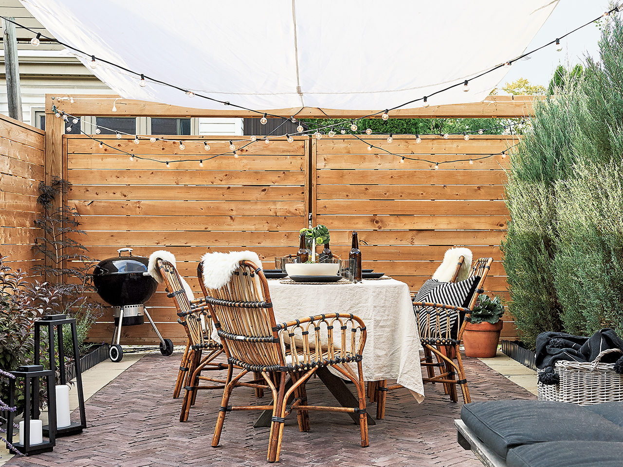 Tiny backyard makeover